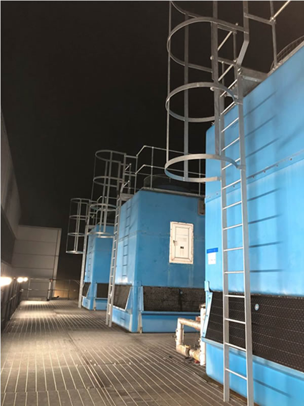 High Level Access Cooling Tower Contract Undertaken
