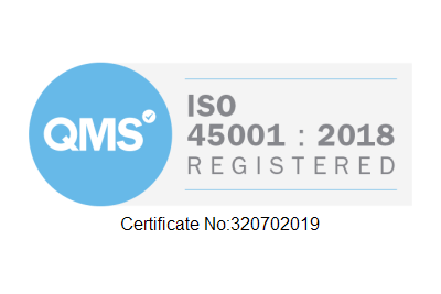 ISO 45001 Registered