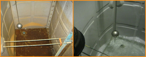 Water Tank Cleaning - When
